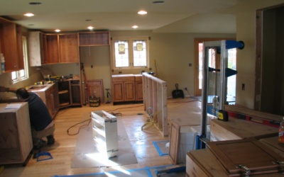 Beam us up, Scotty! Installing a beam to replace a load-bearing wall
