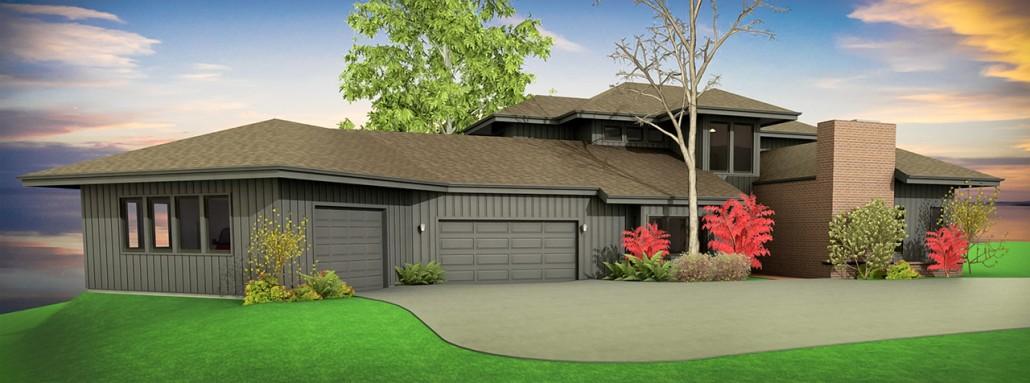 Boise garage addition: A design study