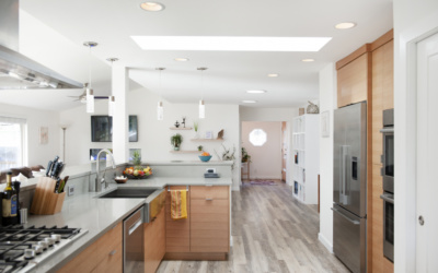 What are the major stages in a remodel project?