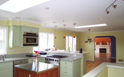 A kitchen rejoins the family