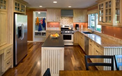 A multi-dimensional kitchen remodel