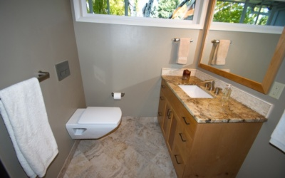 From empty nest to guests: A simple bathroom remodel